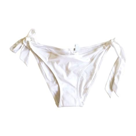 maillot de bain deux pi ces la perla 40 l t3 blanc vendu par l 8438339 5126315. Black Bedroom Furniture Sets. Home Design Ideas