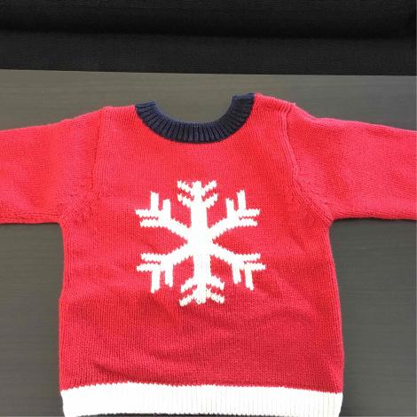 Sweater JACADI Red, burgundy