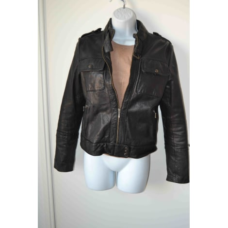 d2ec63ca35 Leather Jacket KOOKAI 36 (S