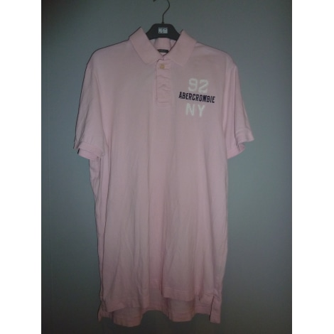 Tee-shirt ABERCROMBIE & FITCH Rose, fuschia, vieux rose