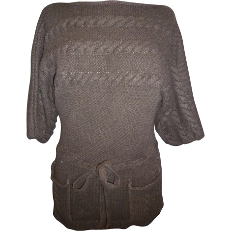 Pull tunique PAUL & JOE SISTER Marron