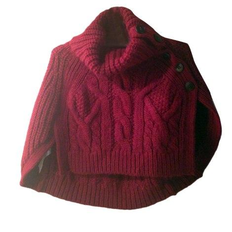 Cape comptoir des cotonniers 36 s t1 rouge vendu par marjorie 857 5466040 - Cape comptoir des cotonniers ...