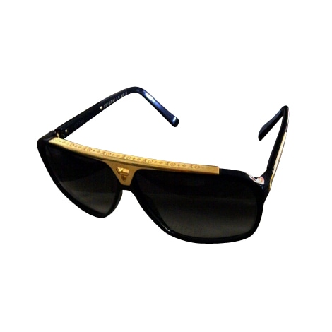 lunettes de soleil louis vuitton noir 561396