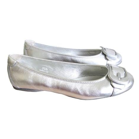 Ballet Flats HOGAN Silver