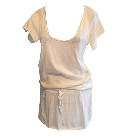 Pull tunique VIRGINIE CASTAWAY Blanc, blanc cassé, écru