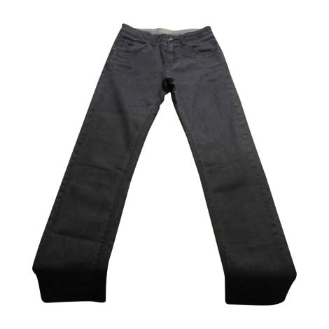 Pantalon BURBERRY Gris, anthracite