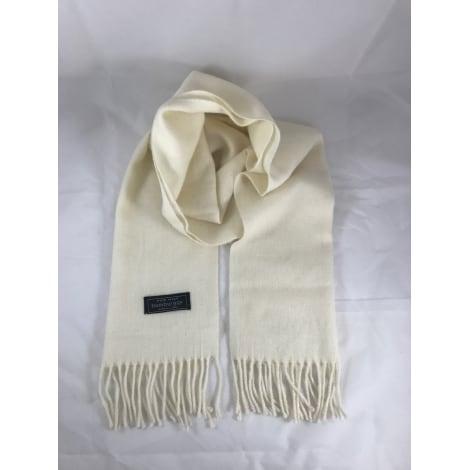 Echarpe MARQUE INCONNUE Blanc, blanc cassé, écru
