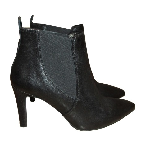 Bottines & low boots à talons COMPTOIR DES COTONNIERS Noir