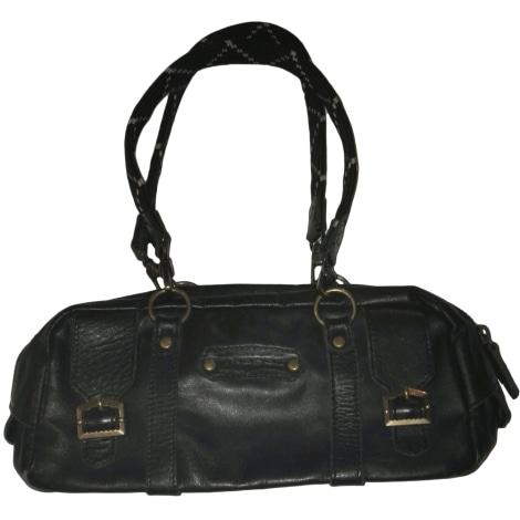 sac main en cuir diesel noir 5777214. Black Bedroom Furniture Sets. Home Design Ideas