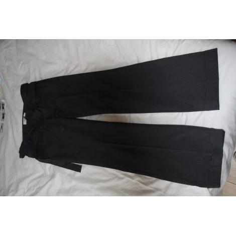 Pantalon large COMPTOIR DES COTONNIERS Gris, anthracite