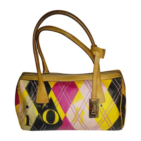 sac main en cuir dior multicouleur vendu par chanchan21 5779980. Black Bedroom Furniture Sets. Home Design Ideas