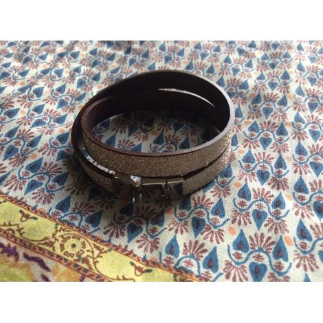 Bracelet CLEOR Doré, bronze, cuivre