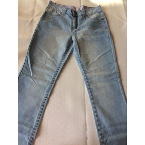 Jeans droit JACQUELINE RIU Bleu, bleu marine, bleu turquoise