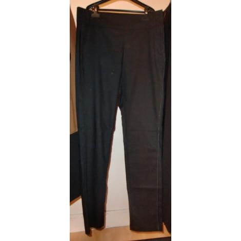 pantalon slim cigarette captain tortue 42 l xl t4 noir 5800578. Black Bedroom Furniture Sets. Home Design Ideas