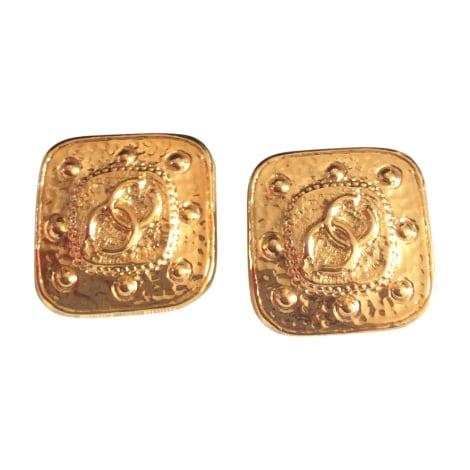 ohrringe chanel gold vendu par marmousez 5805429. Black Bedroom Furniture Sets. Home Design Ideas