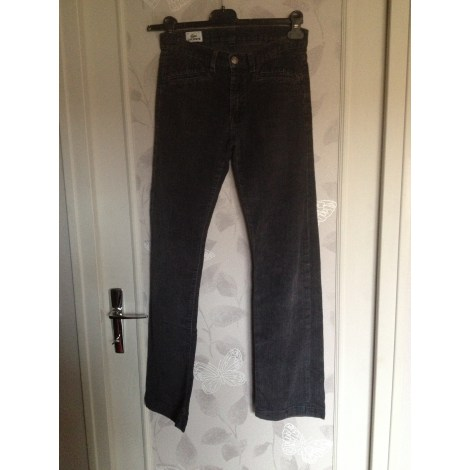 Jeans slim LACOSTE Gris, anthracite