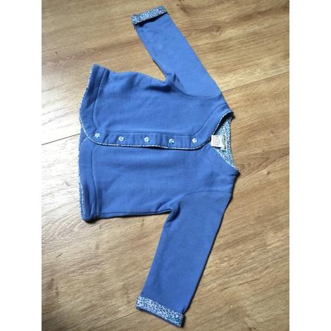 Gilet, cardigan CYRILLUS Bleu, bleu marine, bleu turquoise