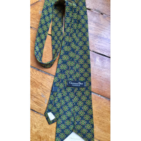 Cravate DIOR HOMME Vert