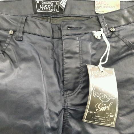 Pantalon slim, cigarette ALCOTT 38 (M, T2) bleu neuf avec étiquette ... 218b26b945b1