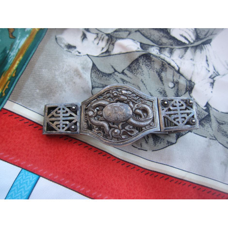 Bracelet VINTAGE Argenté, acier