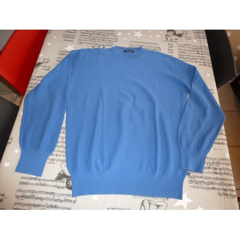Pull FAÇONNABLE Bleu, bleu marine, bleu turquoise