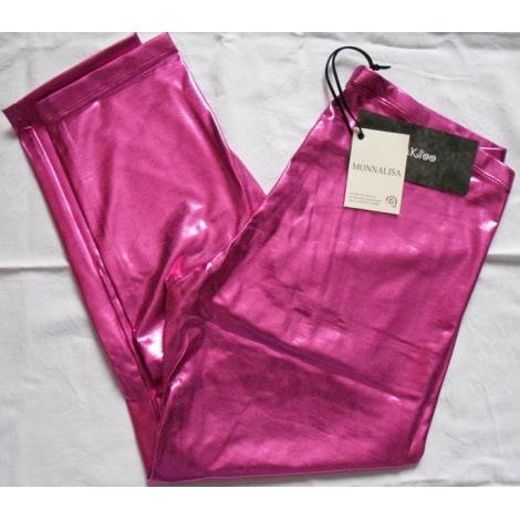 Pantalon MONNALISA Rose, fuschia, vieux rose