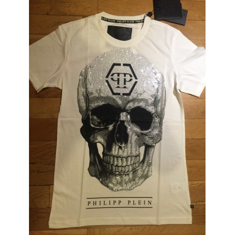 "t-shirt philipp plein round neck ss /""skull/"" neuf taille Xxl"