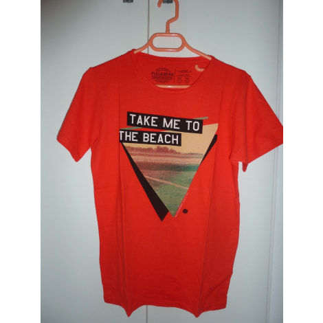 Tee-shirt PULL & BEAR Orange