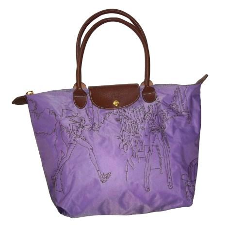 Borsetta in tessuto LONGCHAMP Viola, lilla, lavanda