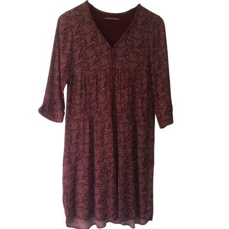 Robe mi longue comptoir des cotonniers 36 s t1 rouge - Robe longue comptoir des cotonniers ...