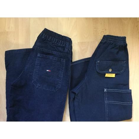 Pantalon 3 POMMES Bleu, bleu marine, bleu turquoise