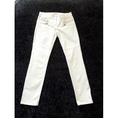 Jeans slim KOOKAI Blanc, blanc cassé, écru