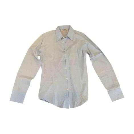 chemise yves saint laurent 39 40 m marron 6499185. Black Bedroom Furniture Sets. Home Design Ideas