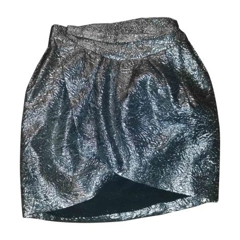 Mini Skirt ISABEL MARANT Silver