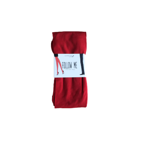 Collant GAMBETTES BOX Rouge, bordeaux