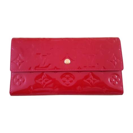 Wallet LOUIS VUITTON Zippy Red, burgundy