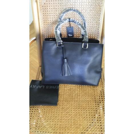 sac main en cuir galeries lafayette noir vendu par clau5166283 6537388. Black Bedroom Furniture Sets. Home Design Ideas