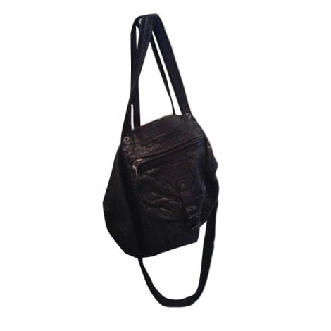 sac xl en cuir jerome dreyfuss noir vendu par le vide dressing de chlo 6562821. Black Bedroom Furniture Sets. Home Design Ideas