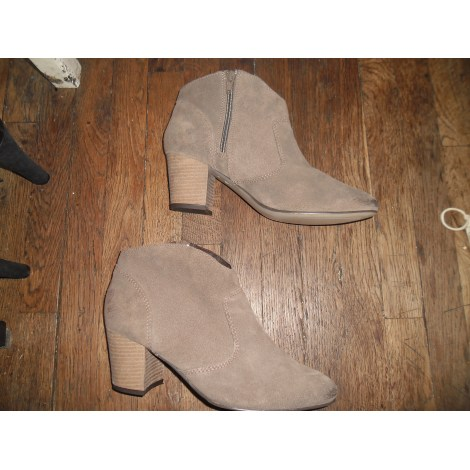 Bottines & low boots à talons STEVE MADDEN Beige, camel
