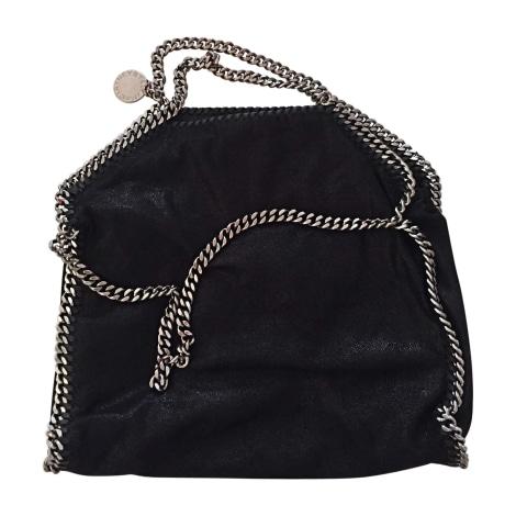 Leather Handbag STELLA MCCARTNEY Black