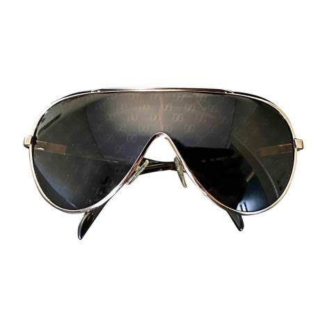 Sonnenbrille GUCCI Gold, Bronze, Kupfer