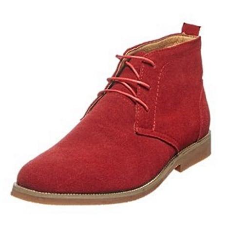 Chaussures à lacets NOEX Rouge, bordeaux