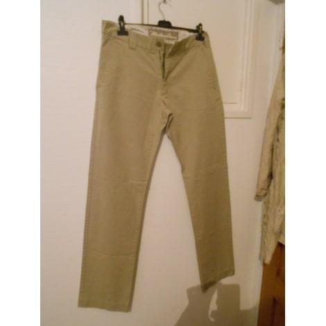 Pantalon droit MARLBORO CLASSICS Beige, camel