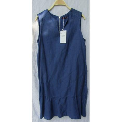 Robe mi longue comptoir des cotonniers 40 l t3 bleu - Robe longue comptoir des cotonniers ...
