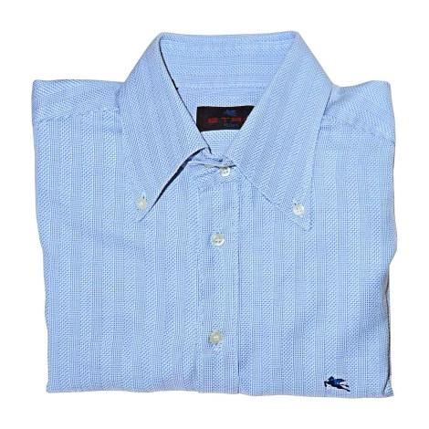 Chemise ETRO Bleu, bleu marine, bleu turquoise