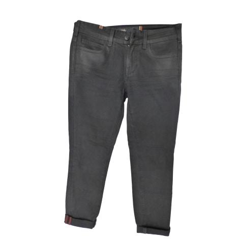Jeans droit NOTIFY Noir