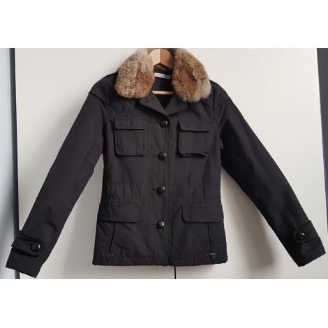 Manteau en laine long pour femme