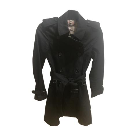 Regenjacke, Trenchcoat BURBERRY 34 (XS, T0) schwarz sehr guter zustand  verkauft durch Natch75 - 6777894 1d6f8391f4
