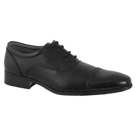 Lace Up Shoes DAZAWA Black