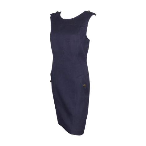 Midi Dress BURBERRY Blue, navy, turquoise